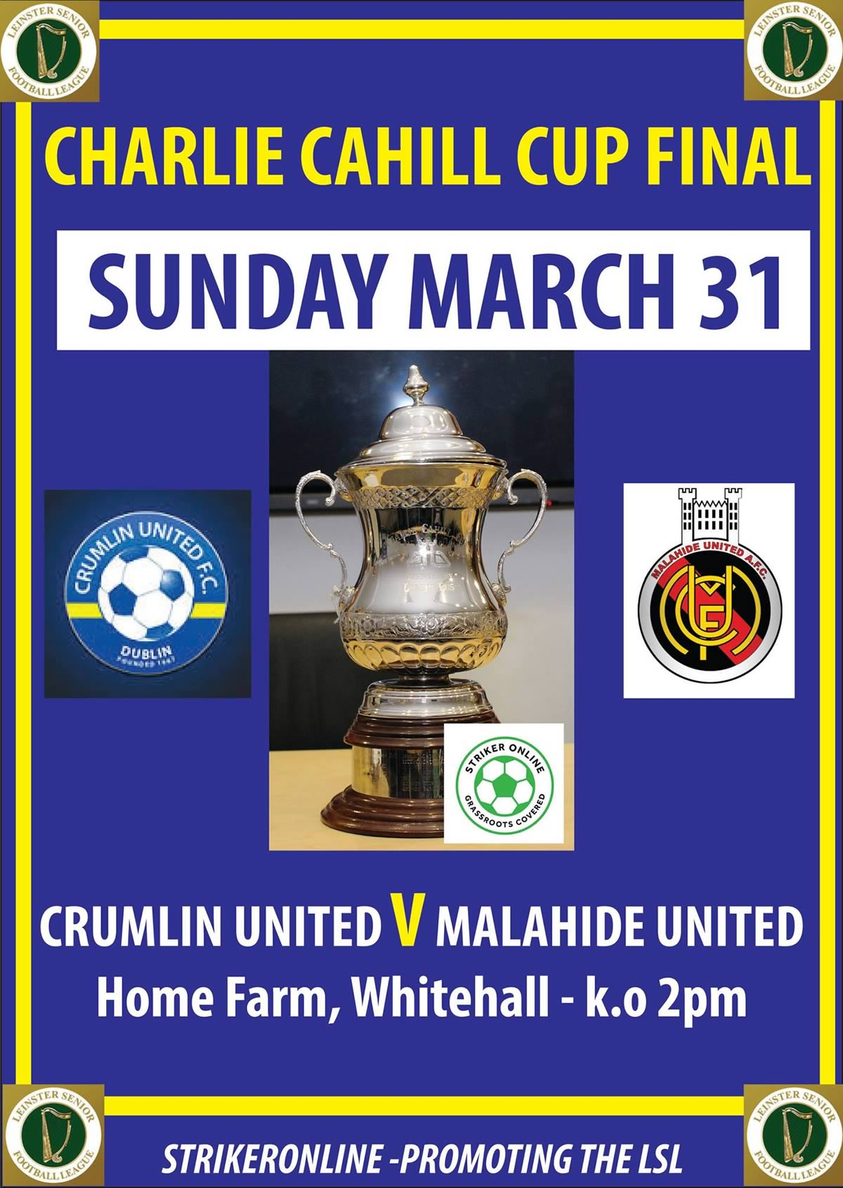 Charlie Cahill Cup Final