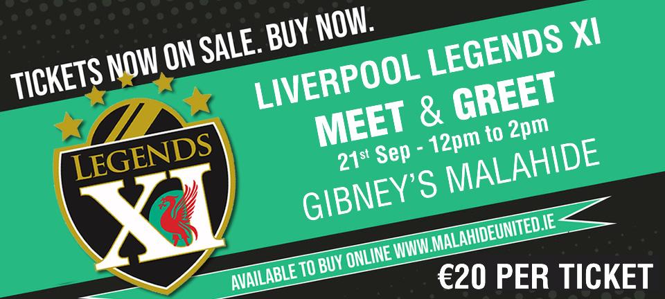 Liverpool Legends Meet and Greet
